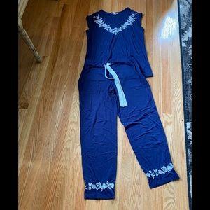 Soma navy blue pajamas